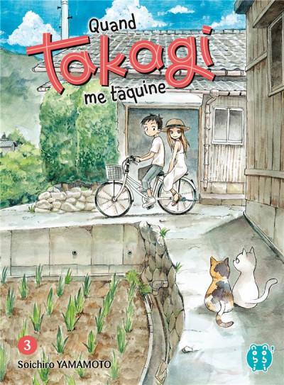 Couverture Quand Takagi me taquine tome 3