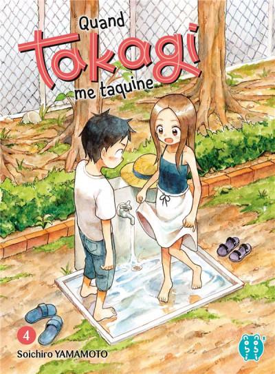 Couverture Quand Takagi me taquine tome 4