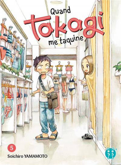 Couverture Quand Takagi me taquine tome 5