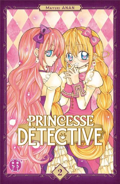 Couverture Princesse détective tome 2