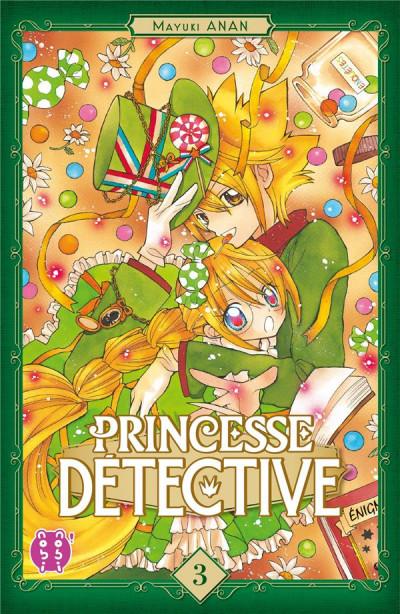 Couverture Princesse détective tome 3