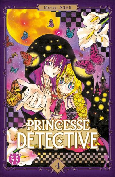 Couverture Princesse détective tome 4