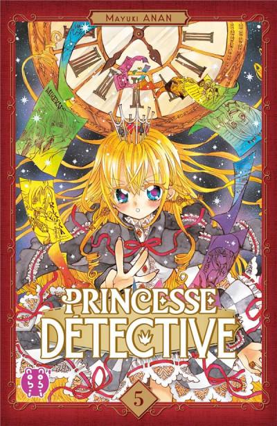 Couverture Princesse détective tome 5