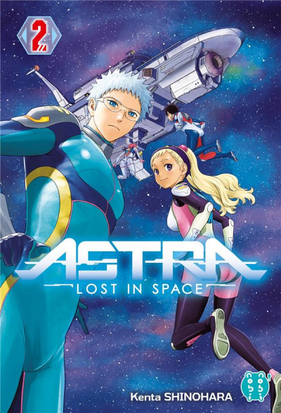 Couverture Astra - lost in space tome 2