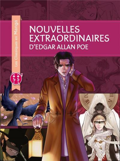 Couverture Les nouvelles extraordinaires d'Edgar Allan Poe