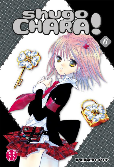 Couverture Shugo chara - édition double tome 6