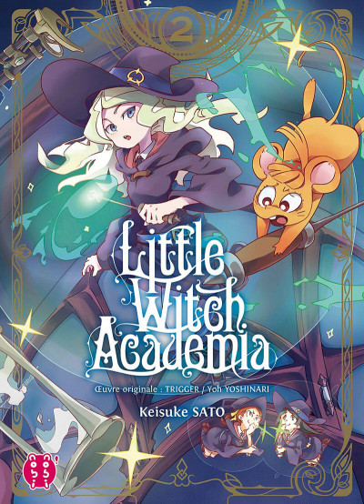 Couverture Little witch academia tome 2