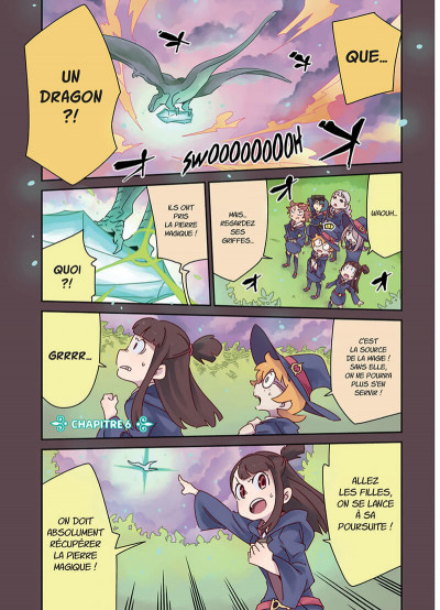Page 1 Little witch academia tome 2