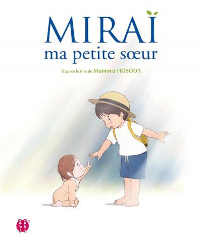 Couverture Mirai, ma petite soeur