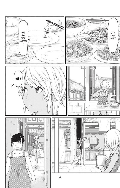 Page 8 Flying witch tome 7