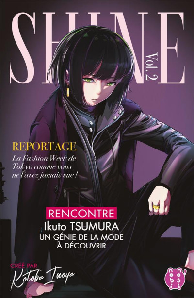 Couverture Shine tome 2