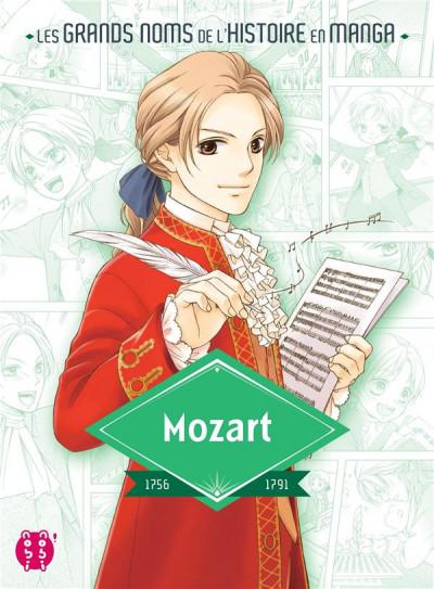 Couverture Mozart