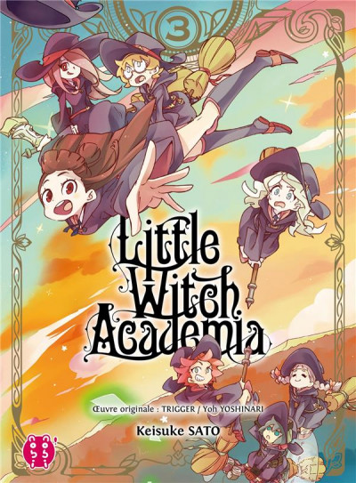 Couverture Little witch academia tome 3