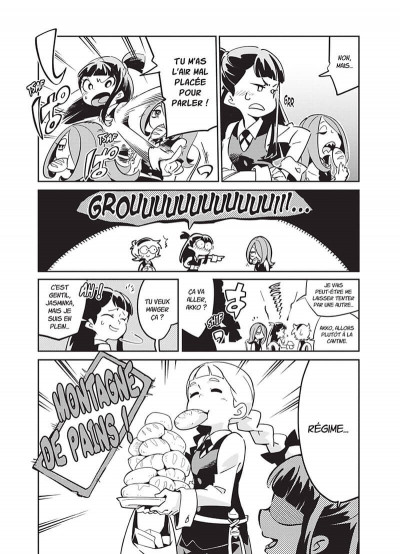 Page 4 Little witch academia tome 3