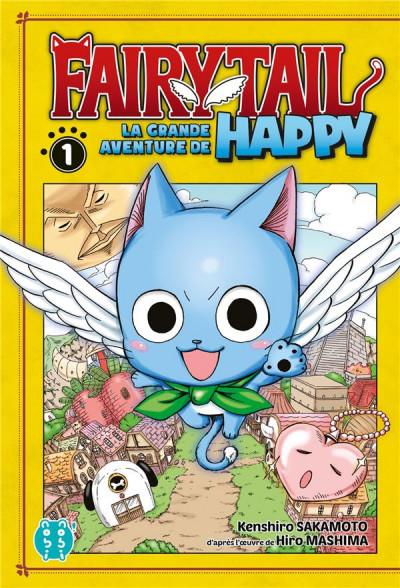 Couverture Fairy tail - la grande aventure de Happy tome 1