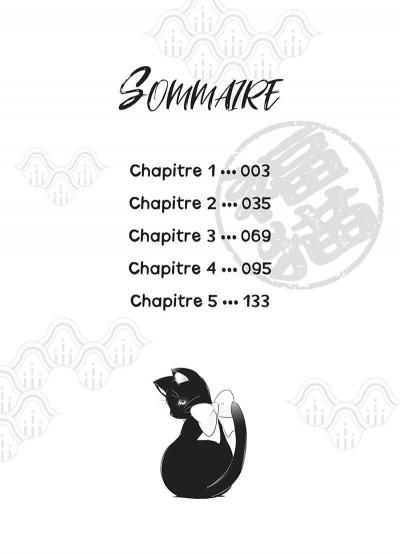 Page 2 Fukuneko, les chats du bonheur tome 1