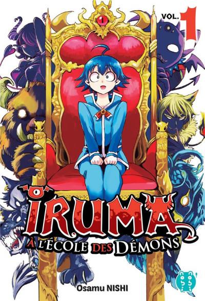 Couverture Iruma à l'école des démons tome 1
