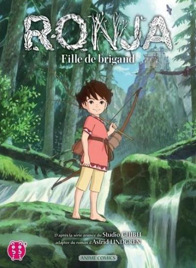 Couverture Ronja, fille de brigand tome 1