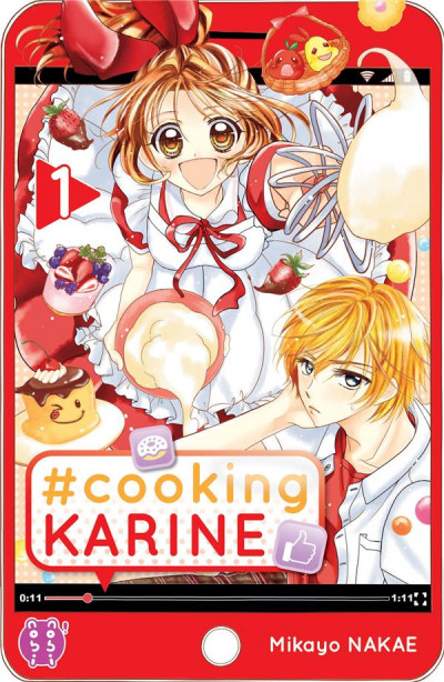 Couverture #Cooking Karine tome 1