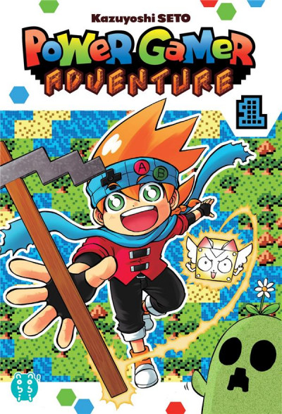 Couverture Power gamer adventure tome 1