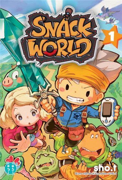 Couverture Snack world tome 1
