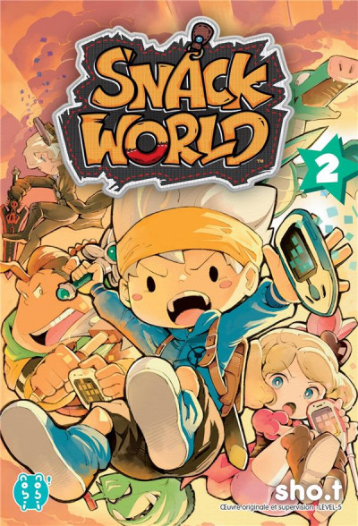 Couverture Snack world tome 2