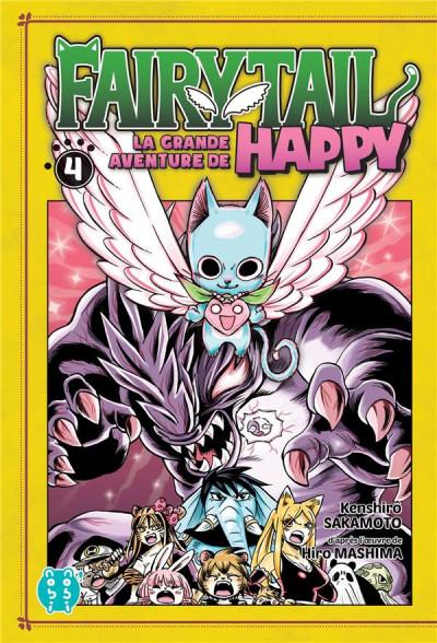 Couverture Fairy tail - la grande aventure de Happy tome 4