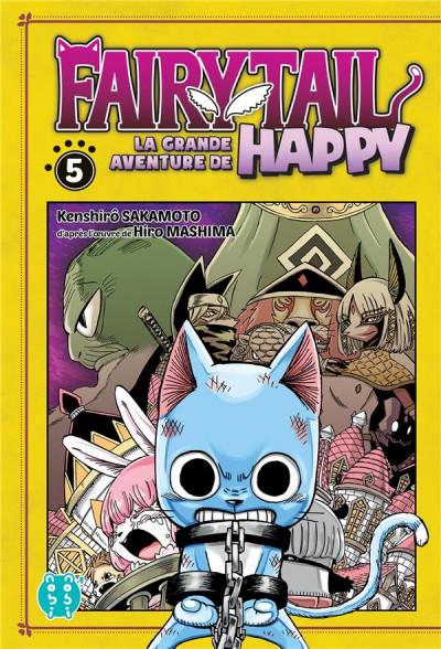 Couverture Fairy tail - la grande aventure de Happy tome 5