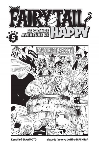 Page 1 Fairy tail - la grande aventure de Happy tome 5