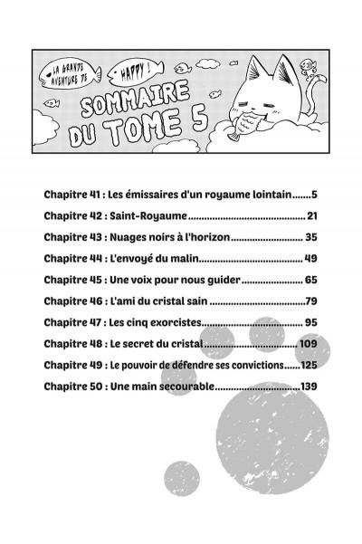 Page 4 Fairy tail - la grande aventure de Happy tome 5