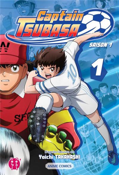 Couverture Captain Tsubasa - anime comics (saison 1) tome 1