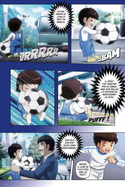 Page 6 Captain Tsubasa - anime comics (saison 1) tome 1