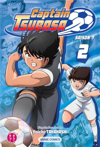 Couverture Captain Tsubasa - anime comics (saison 1) tome 2