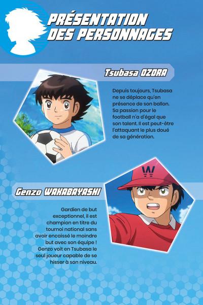 Page 2 Captain Tsubasa - anime comics (saison 1) tome 2