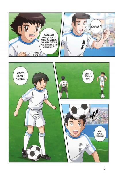 Page 7 Captain Tsubasa - anime comics (saison 1) tome 2