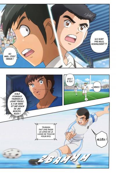 Page 8 Captain Tsubasa - anime comics (saison 1) tome 2