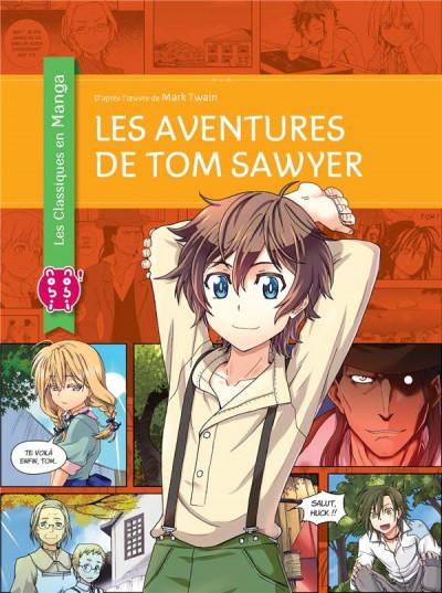 Couverture Les aventures de Tom Sawyer