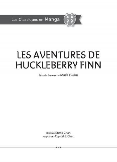 Page 3 Les aventures de Huckleberry Finn