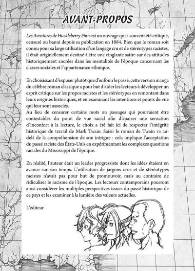 Page 5 Les aventures de Huckleberry Finn