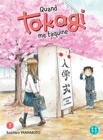 Couverture Quand takagi me taquine tome 7