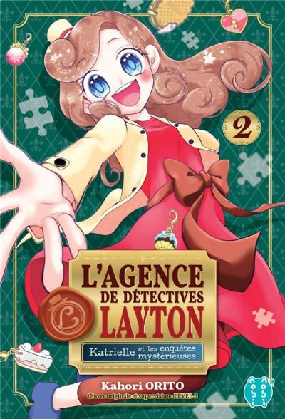 Couverture Katrielle et les enquêtes mystérieuses tome 2