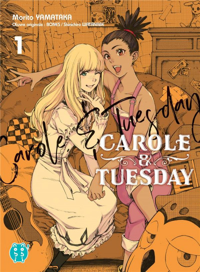 Couverture Carole & Tuesday tome 1