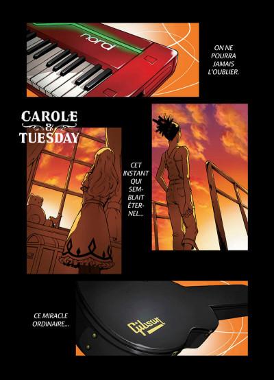 Page 1 Carole & Tuesday tome 1