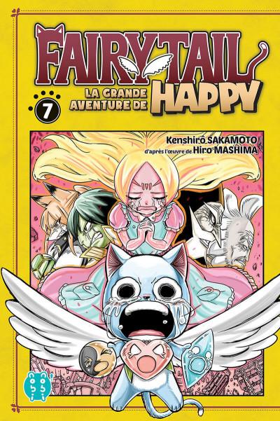 Couverture Fairy tail - la grande aventure de Happy tome 7