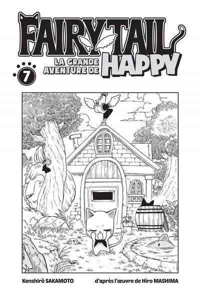 Page 1 Fairy tail - la grande aventure de Happy tome 7