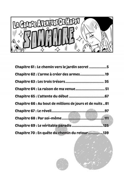 Page 4 Fairy tail - la grande aventure de Happy tome 7