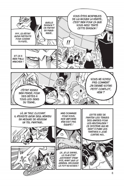 Page 8 Fairy tail - la grande aventure de Happy tome 7