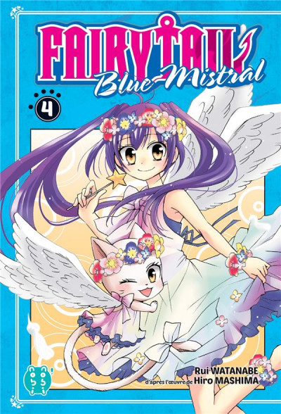 Couverture Fairy Tail - blue mistral tome 4