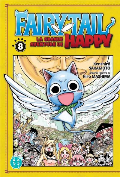 Couverture Fairy tail - la grande aventure de Happy tome 8
