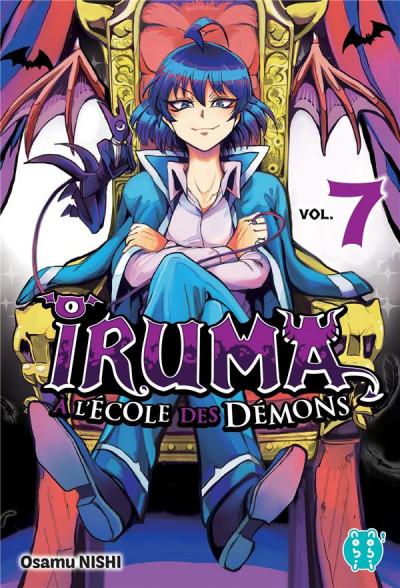 Couverture Iruma à l'école des démons tome 7